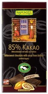 Rapunzel Bio Bitterschokolade 85% Kakao 80 g