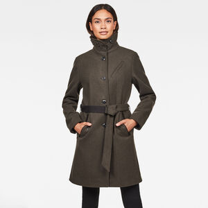 Empral Wool Trenchcoat