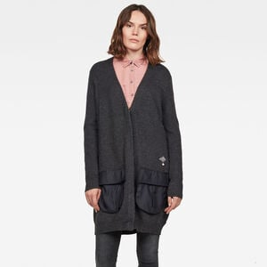 City Armour Knitted Cardigan