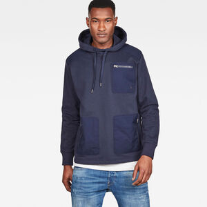 Arris Straight Fit Hooded Sweatshirt