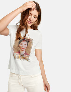 Shirt mit Picture-Print