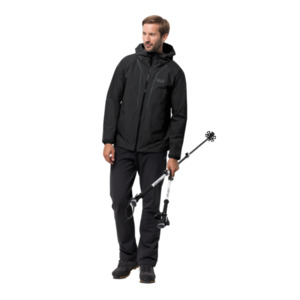 Jack Wolfskin Hardshell-Jacke Männer Sierra Trail Jacket Men S schwarz