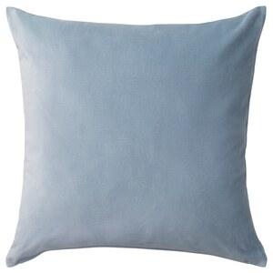 SANELA                                Kissenbezug, hellblau, 50x50 cm