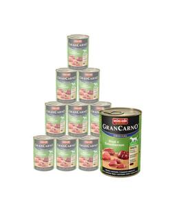 animonda Nassfutter GranCarno® Adult, 12 x 400g