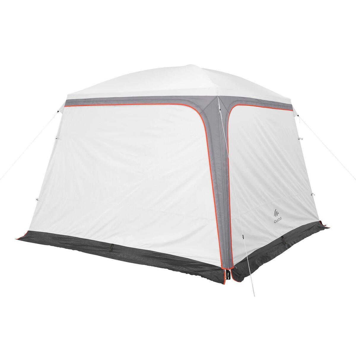 Bild 3 von Pavillon Arpenaz 3 נ3 m mit Türen 10 Personen Camping LSF 50+ Fresh&Black weiß