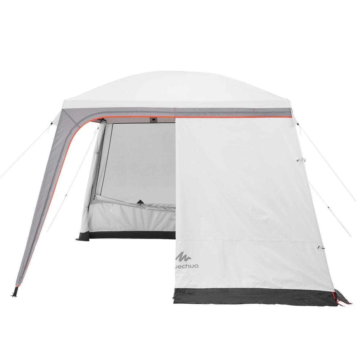 Bild 5 von Pavillon Arpenaz 3 נ3 m mit Türen 10 Personen Camping LSF 50+ Fresh&Black weiß