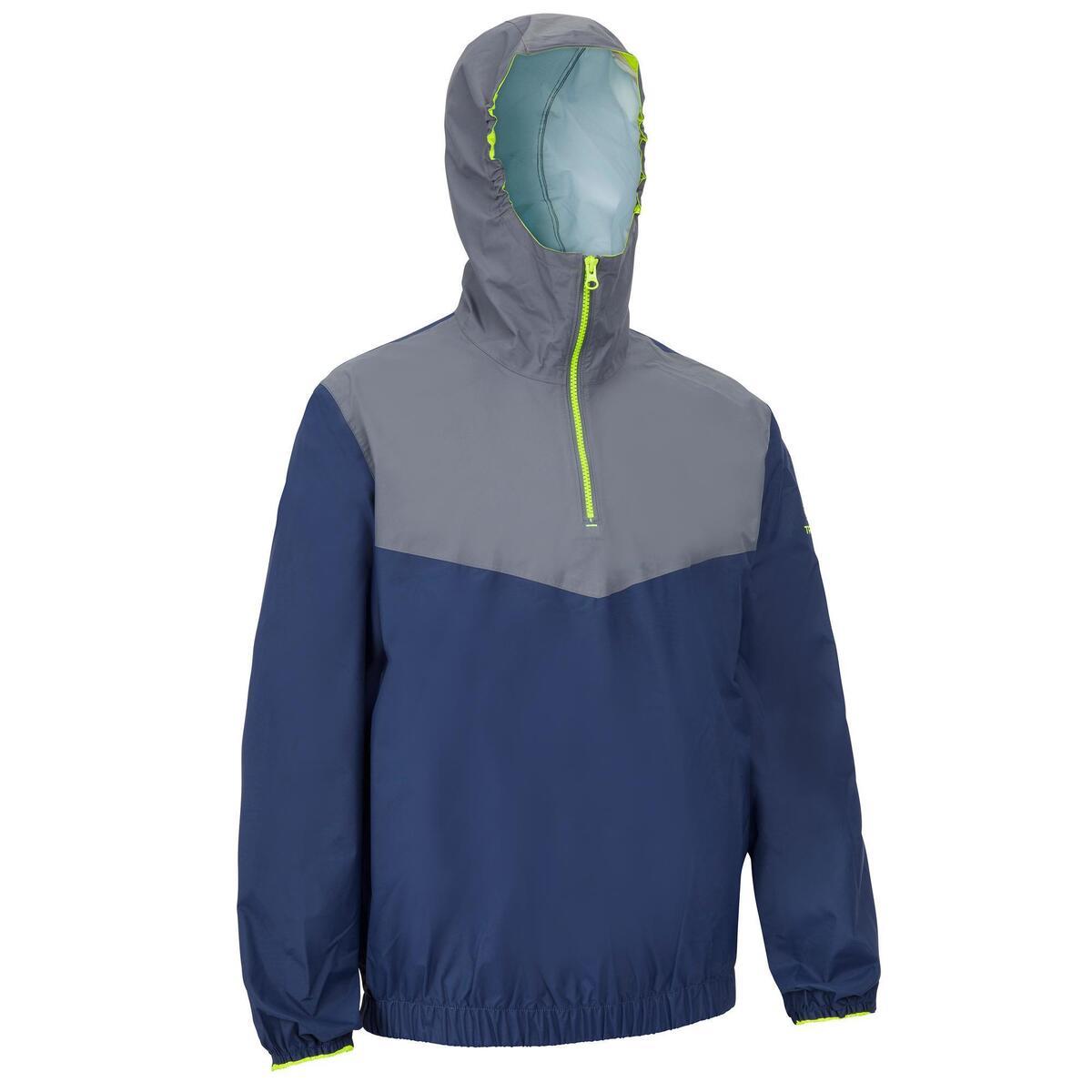 Bild 1 von Segeljacke Dinghy 100 winddicht Erwachsene blau/grau