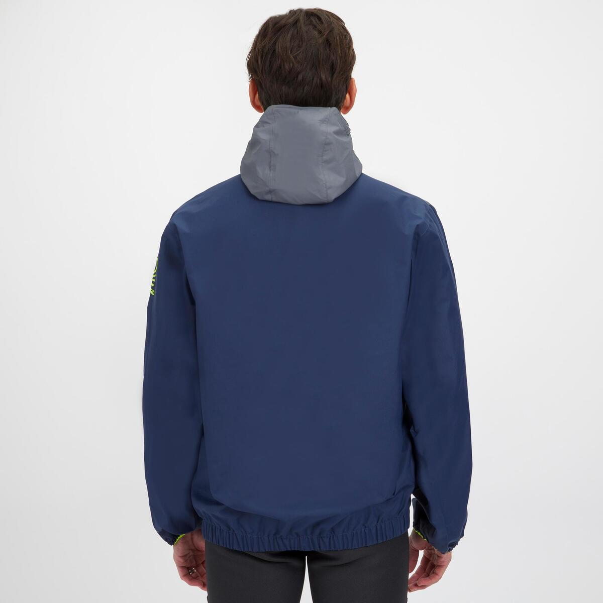 Bild 3 von Segeljacke Dinghy 100 winddicht Erwachsene blau/grau