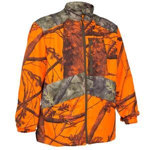 Jagd-Jacke leicht 100 camouflage orange