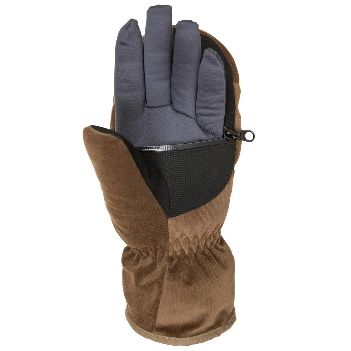 Bild 3 von Jagd-Handschuhe Toundra 500 braun
