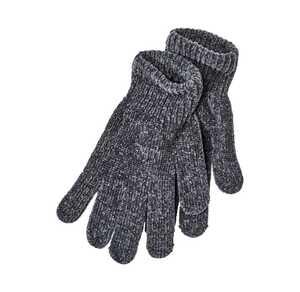 Damen-Handschuhe aus samtigem Chenille