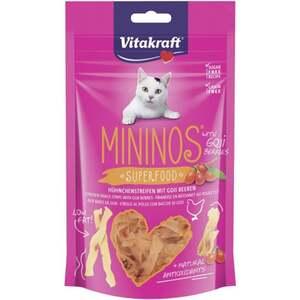 Vitakraft Mininos Superfood Hühnchenstreifen mit Goji B 2.48 EUR/100 g