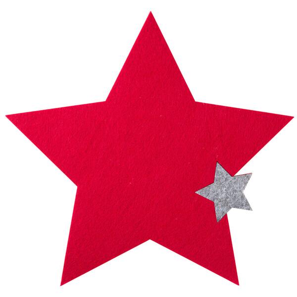 Platzset in Sternform