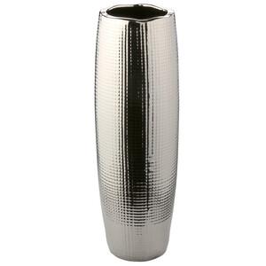 Große Vase mit karierter Struktur