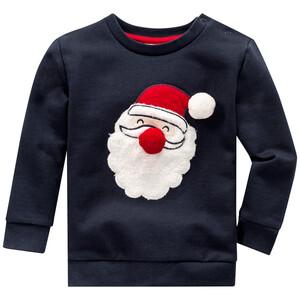 Baby Sweatshirt mit Weihnachtsmann-Motiv