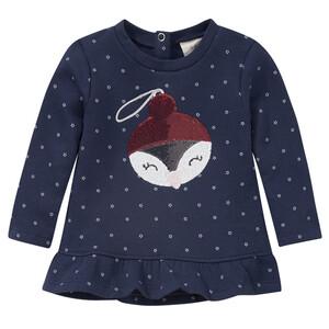 Baby Sweatshirt mit weihnachtlichem Motiv