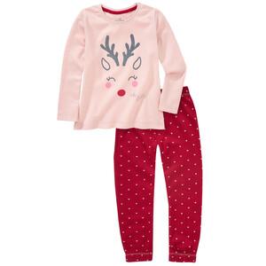 Mädchen Schlafanzug mit Glitzer