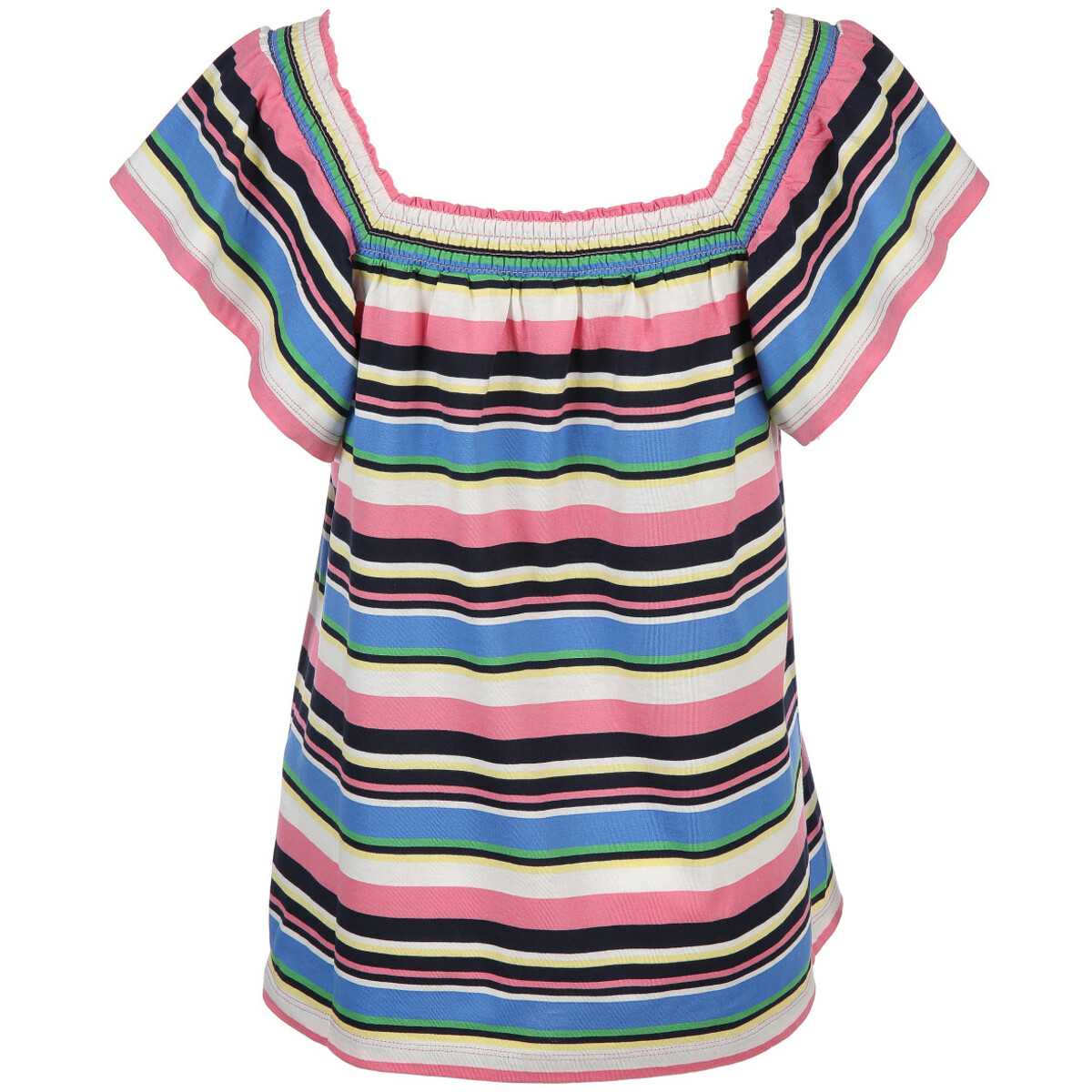 Bild 2 von Damen Carmenshirt im Streifen Look