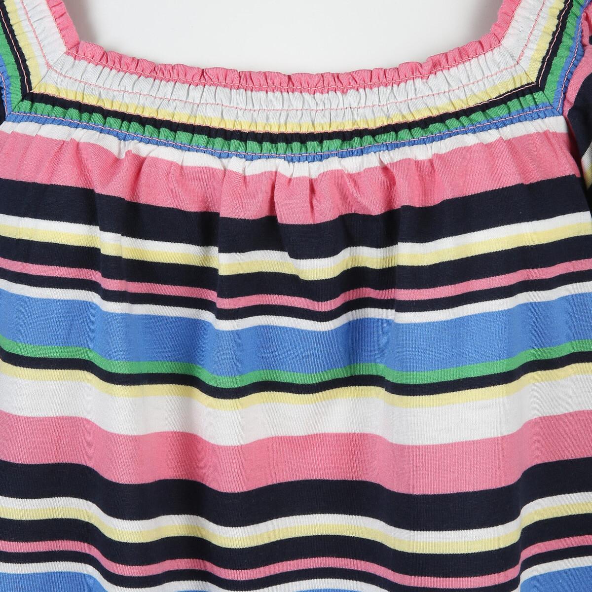 Bild 3 von Damen Carmenshirt im Streifen Look