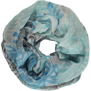 Damen Loop mit floralem Muster