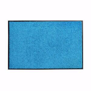acerto® Schmutzfangmatte ZANZIBAR blau 90x120cm