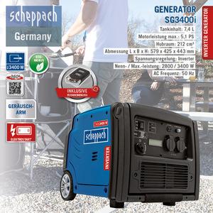 Scheppach Inverter Stromerzeuger SG3400i