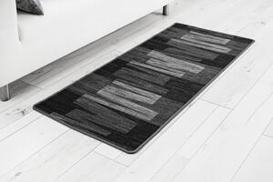 "Bella Casa Teppichläufer ""Via Veneto"" ca. 67x150 cm, grau-schwarz"