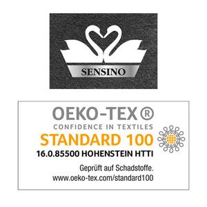 Sensino Luxus Chenille-Badteppich Zottle Shine Gala ca. 50 x 80 cm, Granita