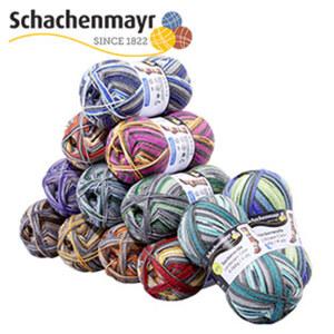 Strumpfwolle versch. Farben, 4-fädig, 50 g, 75 % Schurwolle/25 % Polyamid, Lauflänge ca. 200 m, je