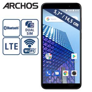 Smartphone Access 57  · 2 Kameras (8 MP/2 MP) · 1-GB-RAM, 16-GB-interner Speicher · microSD™-Slot bis zu 64-GB · nanoSIM · Android™ 8.1 Go Edition