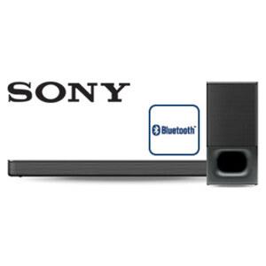 2.1-Bluetooth®-TV-Soundbar HT-S350 mit Funk-Subwoofer • 320 Watt RMS • HDMI-/ optischer Anschluss • inkl. Wandhalterung • Maße Soundbar: H 6,4 x B 90 x T 8,8 cm • Maße Subwoofer: H 38,2