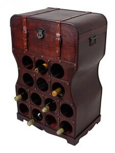Harms Weinregal im Kolonialstil für 14 Flaschen