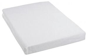 Biber Spannbettlaken weiß 150 x 200 cm