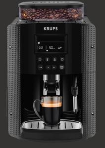Krups EA 8150 Kaffee Vollautomat/1450 Watt Schwarz