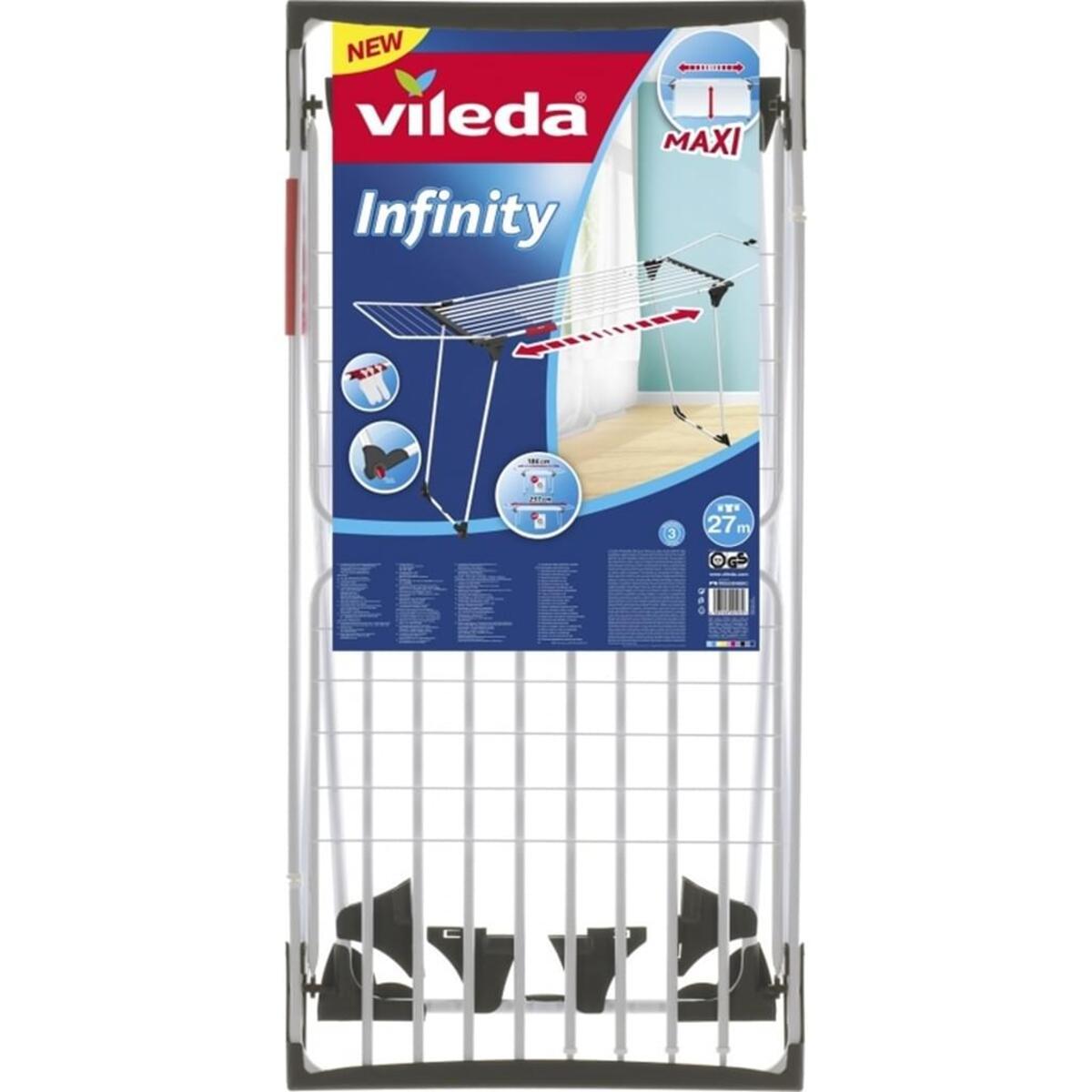 Bild 3 von Vileda Wäschetrockner Infinity Flügeltrockner Wäscheständer