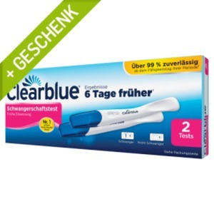 Clearblue Schwangerschaftstest Frühe Erk 2 St