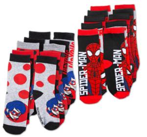 MIRACULOUS oder SPIDERMAN Socken