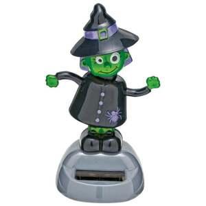 IDEENWELT Halloween-Solar-Figur Hexe