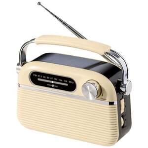 IDEENWELT Retro-Radio creme