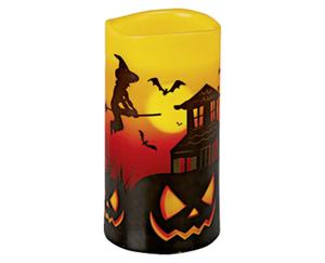 CASA Deco Halloween LED Echtwachskerze