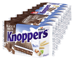 STORCK® Knoppers®  Black & White
