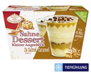 """Conditorei Coppenrath & Wiese 2 Sahne Desserts """"Kleiner Augenblick"""""""