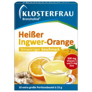 Klosterfrau Broncholind Heißer Ingwer-Orange 150g