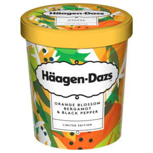 Häagen-Dazs Orange Blossom Bergamot & Black Pepper 460ml