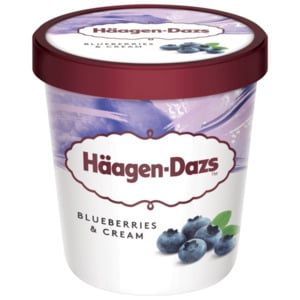 Häagen-Dazs Blueberries & Cream 460ml