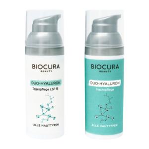 BIOCURA     Duo-Hyaluron Gesichtspflege