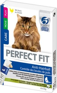 Perfect Fit Anti-Hairball Creamy Snack 11x4x12g