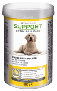 PetBalance Support Knoblauch Pulver 600g
