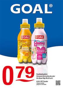 Goal Fruchtsaftgetränk Prinzessin Emmy Kirsche oder Die Biene Maja Multifrucht