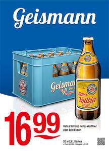 Geismann Helles Vollbier, Helles Weißbier oder Edel Export